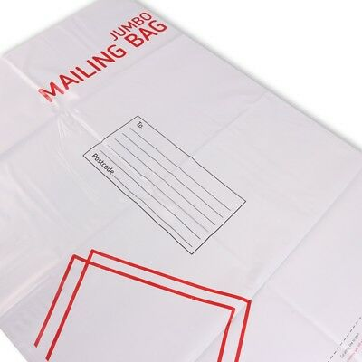 5x JUMBO SIZE MAIL BAGS Postage Warehouse Shipping Water Resistant Self Sealing