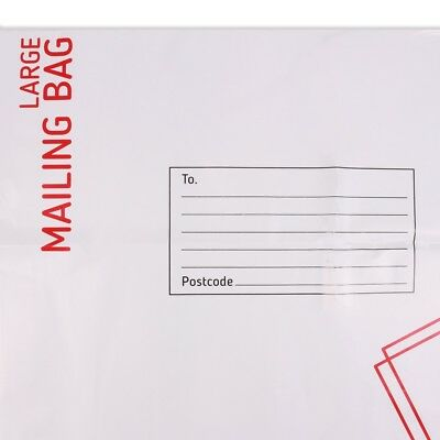5x LARGE SIZE MAIL BAGS Postage Warehouse Shipping Water Resistant Self Sealing