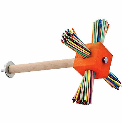 Party Perch Spinning Parrot Toy - This Is How Fun All Perches Should Be