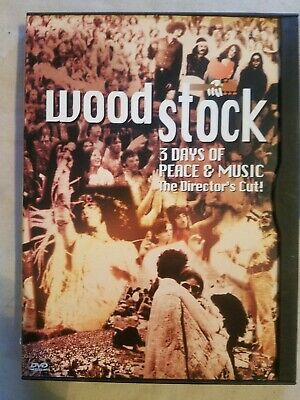 Woodstock - 3 Days of Peace & Music [The Director's Cut DVD]   **Ships FAST!!!**