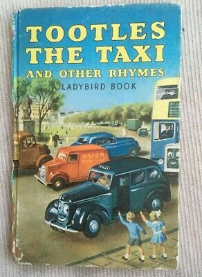Vintage Ladybird Tootles The Taxi And Other Rhymes Matt Book Series 413