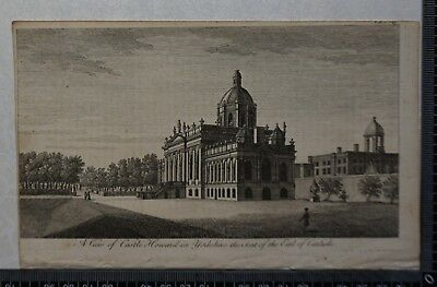 1776 - Engraving of A View of Castle Howard in Yorkshire, Seat of Earl Carlisle