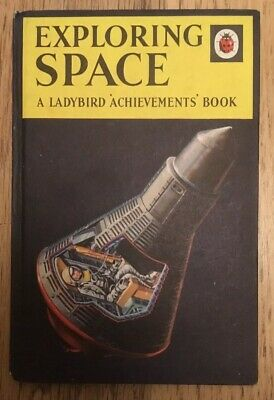 Vintage Ladybird Exploring Space 'Achievements' Book Series 601 2'6 Net VGC