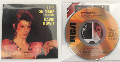 David Bowie Life On Mars? Replica 8cm CD Single