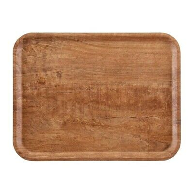 Cambro Madeira Tray Brown Olive 460mm (Next working day UK Delivery)