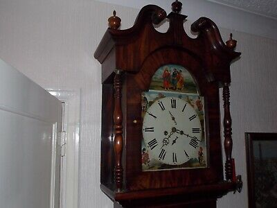 Fine Mahogany Tall Grand Father Clock ***MORE PHOTOS ADDED***