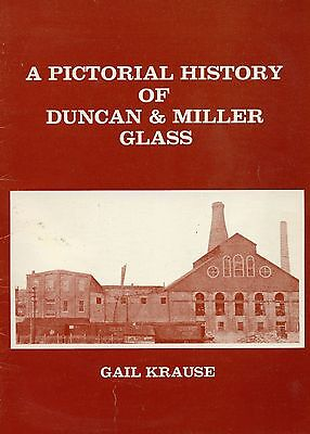 Pictorial History of Duncan Miller & Glass / Scarce Illustrated Book