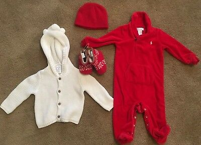 baby boy clothes 6-9 months lot Winter