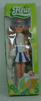 Fleur ( dutch Sindy ) doll in Tennis fashion with dark blond NRFB RARE!