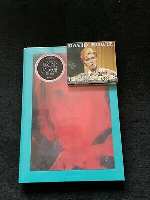 Mick Rock The Rise of David Bowie Book and Transmission Impossible 3 CD Boxset