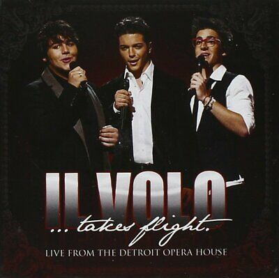 Il Volo - Takes Flight - Live From The Detroit Opera House - Cd - New
