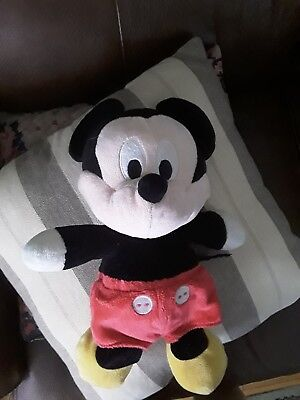 Disney Mickey Mouse Small Soft Plush Toy
