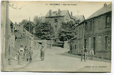 CPA - Carte Postale - France - Solesmes - Rue de Forest - 1946 ( DD7328)
