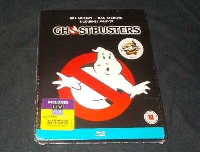 Ghostbusters Steelbook Blu Ray Brand New & Sealed Region Free Bill Murray