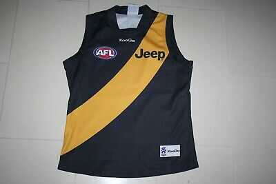 Afl Vfl Richmond Tigers Jumper Jersey Guernsey Mens L Official Kooga