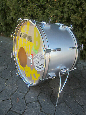 "Vintage SONOR Bassdrum 6ply beechshell 22"" x 14"" with GEWA Protection-Bag"