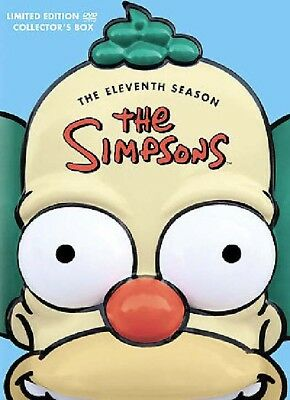 DVD ~ The Simpsons - The Eleventh Season 11 (4-Disc Set) Molded Head Limited  NM