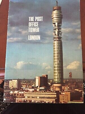 Post Office Tower London Guidebook 1960s