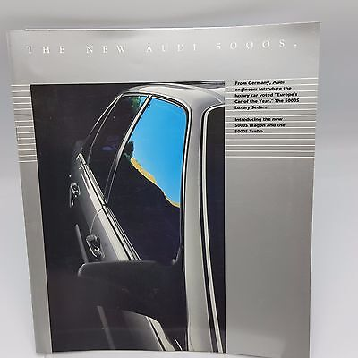 1984 Audi 5000S Sales Brochure Wagon Turbo