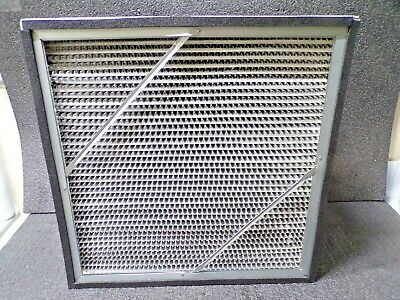 AIR HANDLER MERV 14 Rigid Cell Air Filter, 12x24x12, 8GH05