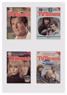 Tv Times 1978 - 1990 / Dvd Rom Collection