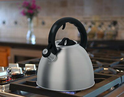Whistling Tea Kettle RED Heat Resistant Hand Kettle Whistling Kettle Tea Pot