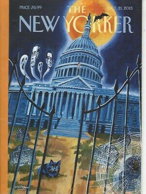 The New Yorker magazine~ October 21 2013 ~ Alice Munro ~ Elizabeth Smart ~ Cuba