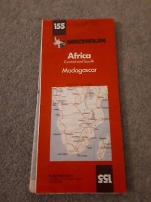 155: Africa Central and South: Madagascar - Michelin Map c.1985