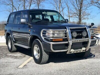 1992 Toyota Land Cruiser HDJ81 1992 Toyota Land Cruiser HDJ81 Turbo Diesel  Japanese Import Right Hand Drive