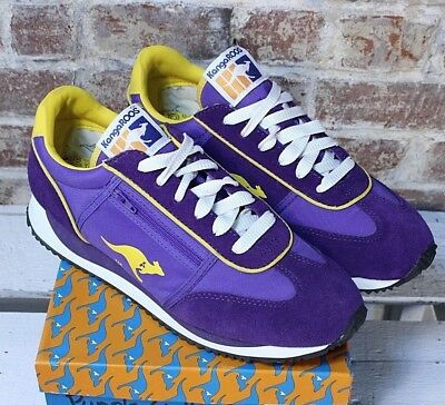 Vintage 80 s KangaROOS LA Lakers Lebron Vikings Wmns 10 Mens 8.5-9 Zip  Pocket 0657ec0173c