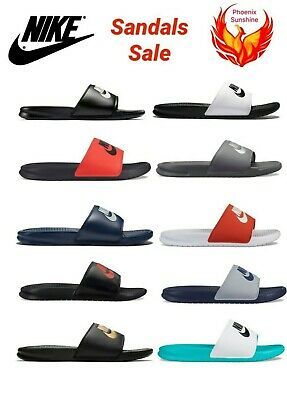 🔥🔥🔥NEW Nike Mens Benassi JDI Slippers Slide Sandals 343880 Size 7 to 15