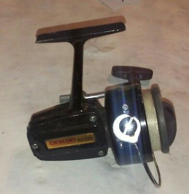 Vintage Daiwa No. 7300 Spinning Reel Ball Bearing Anodized Spool