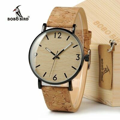 BOBO BIRD Women's Vintage Design Brand Luxury Wooden Bamboo Watches Ladies Watch