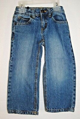 Crazy 8 Boys Straight Blue Jeans Size 3 years Pre-Owned