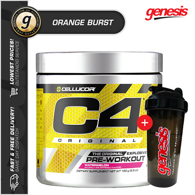 C4 Original ID Series by Cellucor | 60 Serve | Pre-Workout+ INCLUDED ITEM!