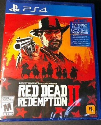 Red Dead Redemption 2 (PS4) BRAND NEW SEALED