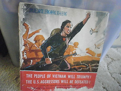 Artwork 1966-The People of Vietnam Will triumph-The US AgressorsWill Be Defeated