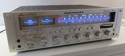Marantz 2330B Stereo Receiver Amp Works Perfect Serviced W/caps Led Upgrade