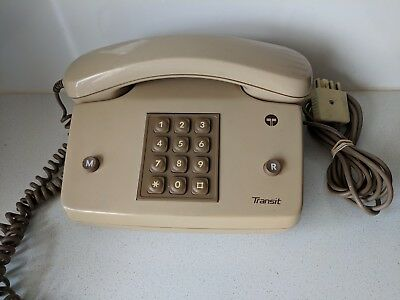 Telecom Transit Touch Dial Home Phone - Cracked Wheat Colour #2