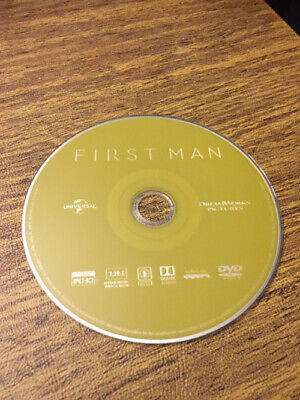 First Man (DVD, 2019) Gosling, DVD Only, No Blue Ray, No Digital, Free Shipping