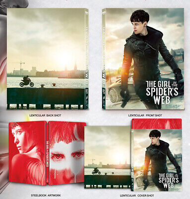 The Girl in the Spider's Web (4K+2D) [Blu-Ray], 2-DISC (STEELBOOK) Lenticular