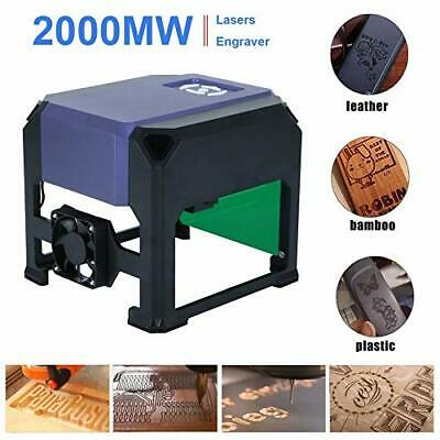2000MW DIY USB Laser Engraver Printer Cutter Carver Logo Engraving Machine K3 AU