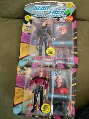 Star Trek TNG Lot of 2. Locutus and Jean Luc Picaed Action Figure 1993
