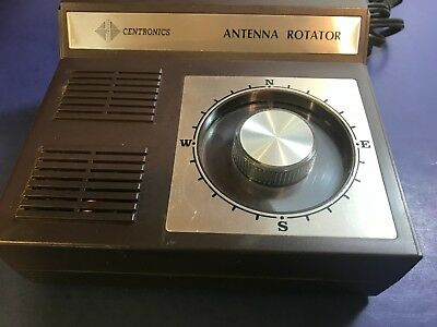 Vintage CENTRONICS  automatic ANTENNA ROTATOR  model AR-300XL  working condition