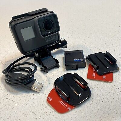 GoPro HERO 5 Black Action Camera 4K Video 12MP 30FPS Waterproof Includes SD Card