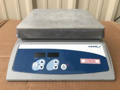 "VWR 825-S Digital Magnetic Stirrer 7""x7"" Aluminum Top Cat# 11301-072"