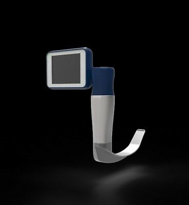 Reusable Portable Video laryngoscope high resolution Monitor 8gb 3 blades
