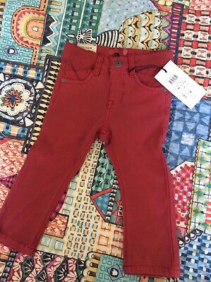 New Name It Uk Skinny Jeans Pants Baby Boys Girls Cotton Size 1-1.5 Years