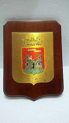 Antiques Vintage Marine Ship Shield Plaque & Signs Ship's Original S028 (3)