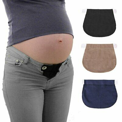 Pregnancy Waistband Belt Adjustable Elastic Waist Extender Pants For Pregnant AZ